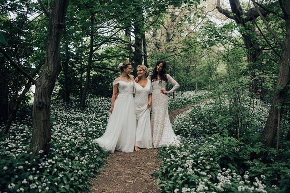 woodland escape. a boho wedding shoot at this green moon, yorkshire