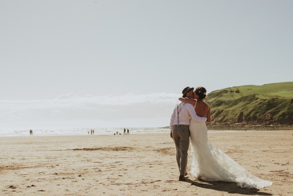 by the sea. stella york for a pretty rustic wedding in cumbria – kerry & richard