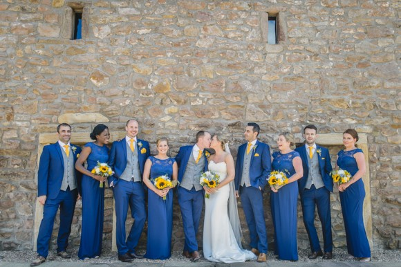 forget me not. a pretty & personal wedding at brownsholme hall – emma & simon