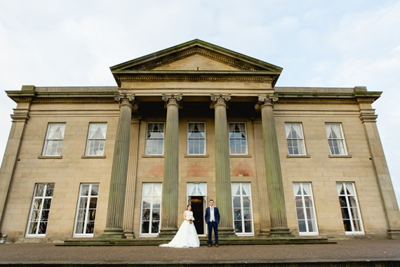 stately elegance. augusta jones for a winter wedding at the mansion, leeds – rebecca & alex