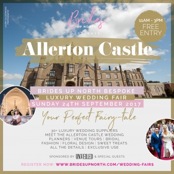 Allerton Castle Luxury Wedding Fair