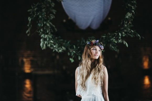 beauty & the wilderness: an enchanting styled shoot at hazel gap barn, nottinghamshire