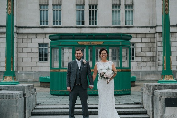 up on the roof. a cool city wedding at oh me oh my, liverpool – lindsey & andrew
