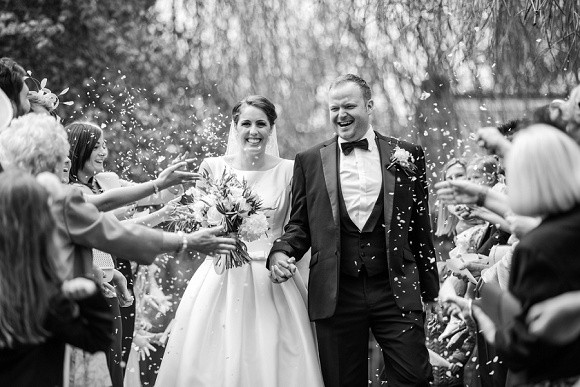 real wedding recap 2017: pronovias for a classic wedding at lartington hall – stephanie & lee