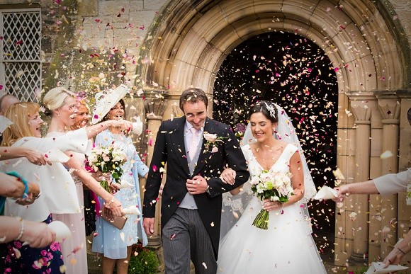princess perfect. ronald joyce for a blush pink wedding at matfen hall – rebecca & robert