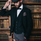 A Peaky Blinders Styled Weddimg Shoot (c) Amy Faith Photography (18)