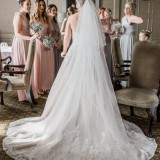 A Pretty Pastel Wedding at Wood Hall Hotel (c) Arabella Smith Fine Art Wedding Photography (25)