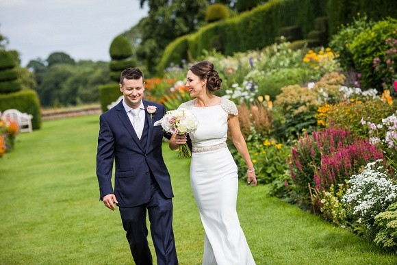from arley hall with love: bond girl glamour for an opulent north west wedding – arlene & simon
