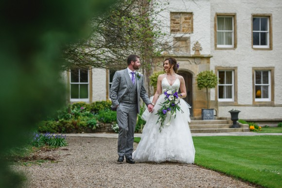 falling into you. vera wang for a stylish wedding at lartington hall – helen & john