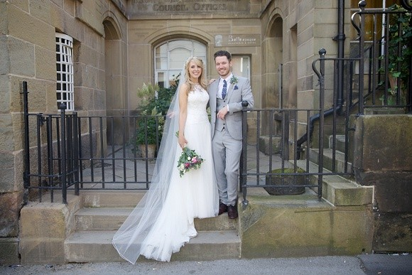 nouveau chic. a stylish wedding at the belle epoque, cheshire – aimee & simon