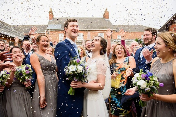 your day your way: picking confetti to suit your venue