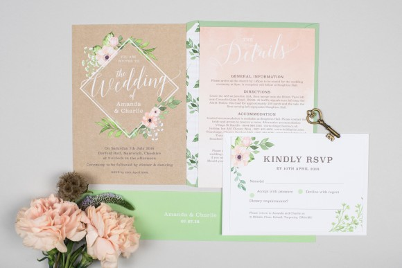 hot off the print: new wedding stationery designs by project pretty + 15% discount