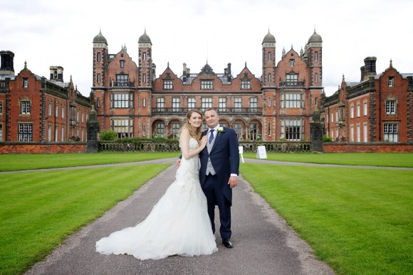 happily ever after. a garden wedding at capesthorne hall, cheshire – rachel & omar