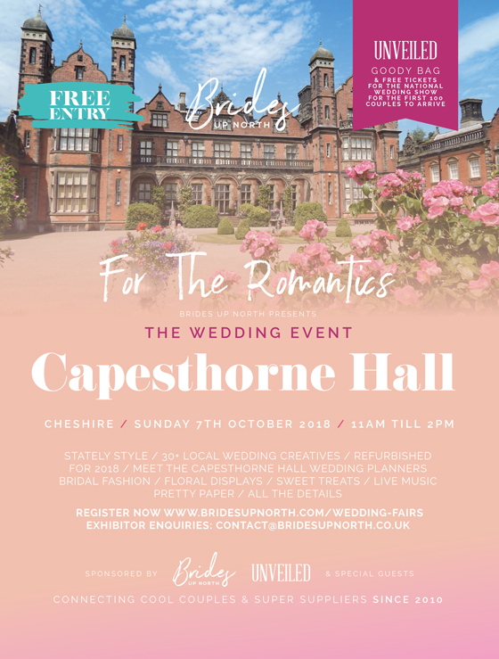 get set wed: you're invited to capesthorne hall