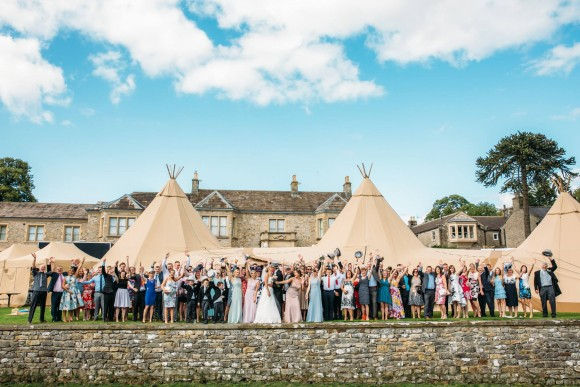weddings with feel good factor: totem tipi