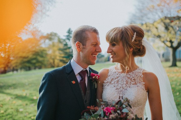 a winter's love. essense of australia for a chic wedding at the mansion, leeds – jen & leigh