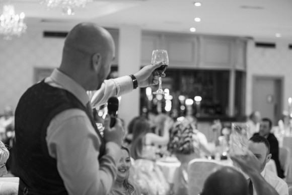 Best Man's Raising Glass
