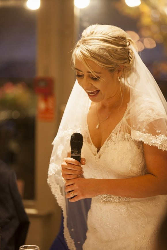 Bride Speaking