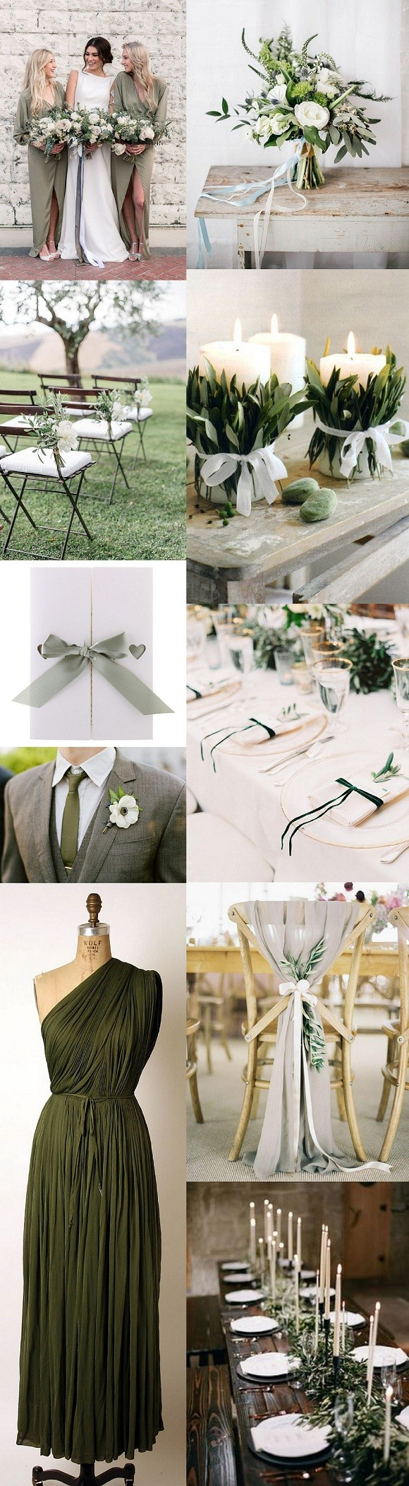 Olive Green Wedding