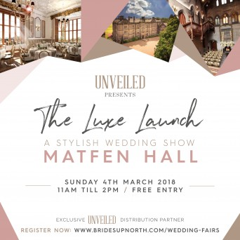 Matfen Hall Wedding Fair