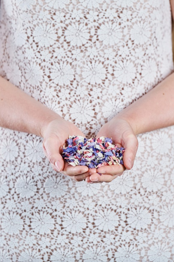 colour your day pretty: vibrant confetti inspiration from shropshire petals
