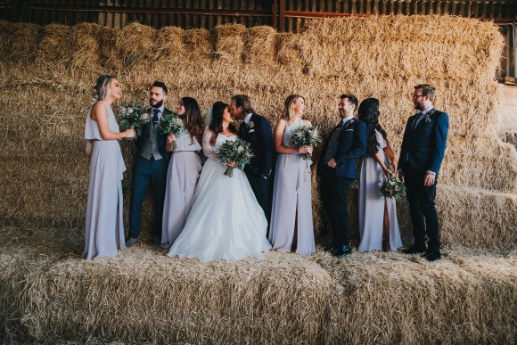 real wedding recap 2018: suzanne neville for a rustic barn wedding in the north west – naomi & jonathan