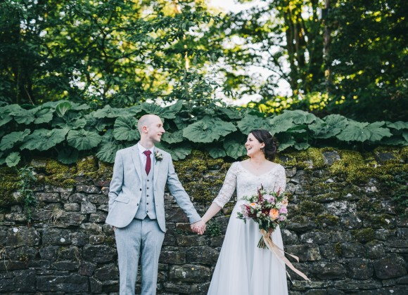 real wedding recap 2018: sassi holford for a picturesque village hall wedding in the north west – amy & simon