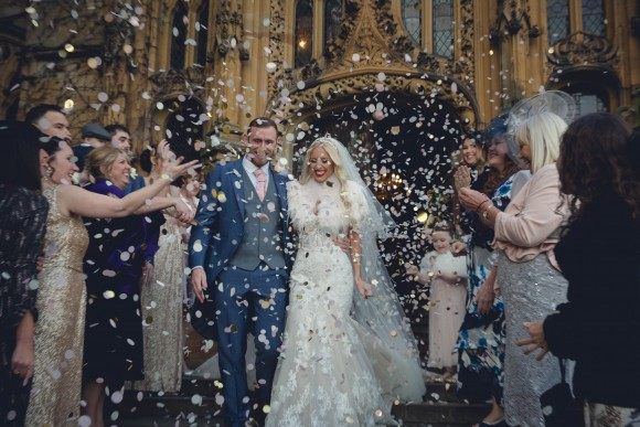 fairytales & feathers. essense of australia for a lavish winter wedding at carlton towers – chloe & lee