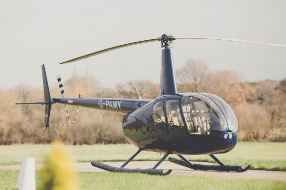 the sky's the limit: high flying helicopter