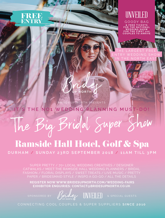 omigod! its the big bridal super show at ramside hall hotel, golf & spa!