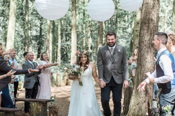 real wedding recap 2018: a bohemian big day at camp katur – sarah & craig