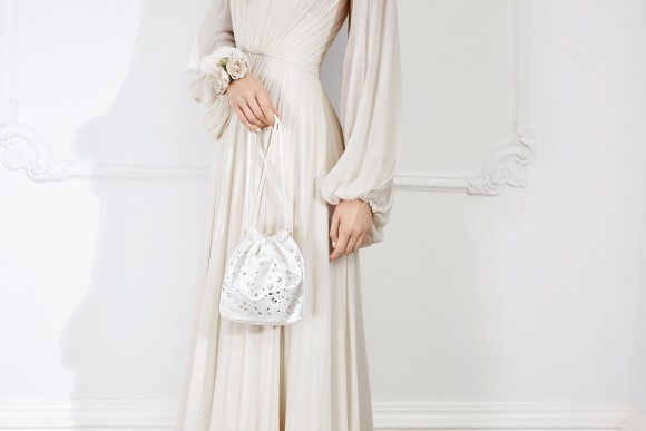 Brigette Clutch Ivory