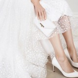 Fifi Shoe and Sissi Clutch Ivory