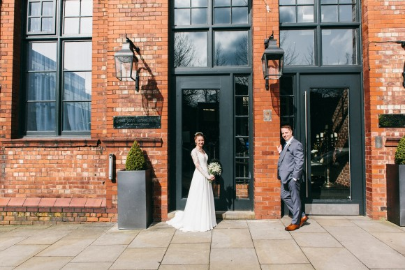 daisy do: lillian west for a city wedding in manchester – sarah & roy
