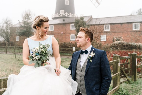 falling for you. a blue grey & silver wedding in east yorkshire – abigail & ashley