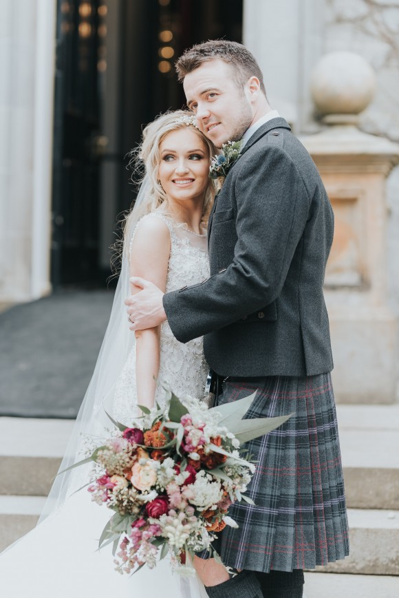 castles in the sky. a romantic styled bridal shoot at carlowrie castle, scotland