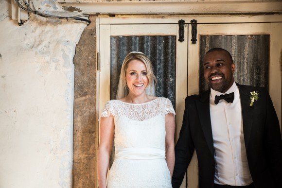 industrial cool: halfpenny london for a stylish wedding at holmes mill – jane & nathan