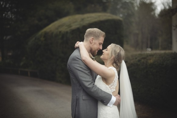 modern botanics: grey & copper for an elegant wedding at middleton lodge – rachel & chris
