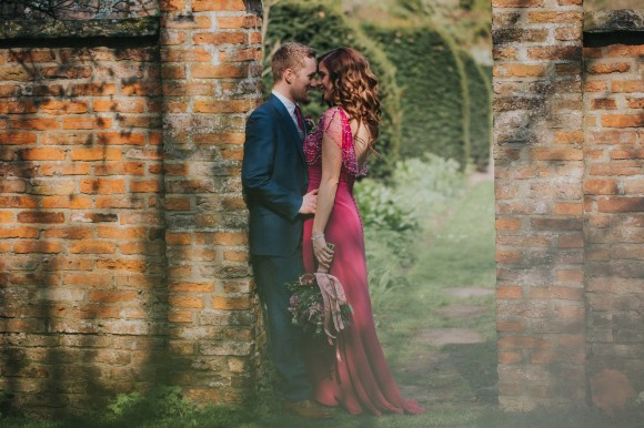 pretty in pink: beads & blossom for a vintage wedding at saltmarshe hall, east yorkshire – helen & ed