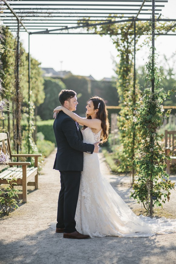 love in bloom. martina liana for an enchanting wedding at the alnwick garden – jade & james