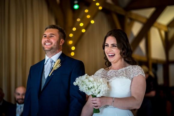 A Rustic Wedding at Sandhole Oak Barn (c) James Tracey Photography (10)