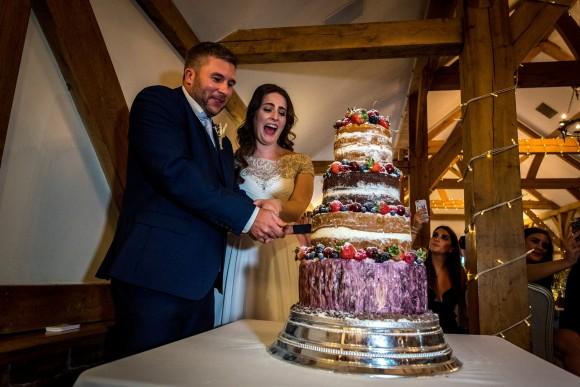 A Rustic Wedding at Sandhole Oak Barn (c) James Tracey Photography (43)