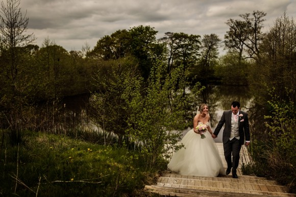 sophisticated sparkle: morilee for an intimate wedding at styal lodge – rachel & paul