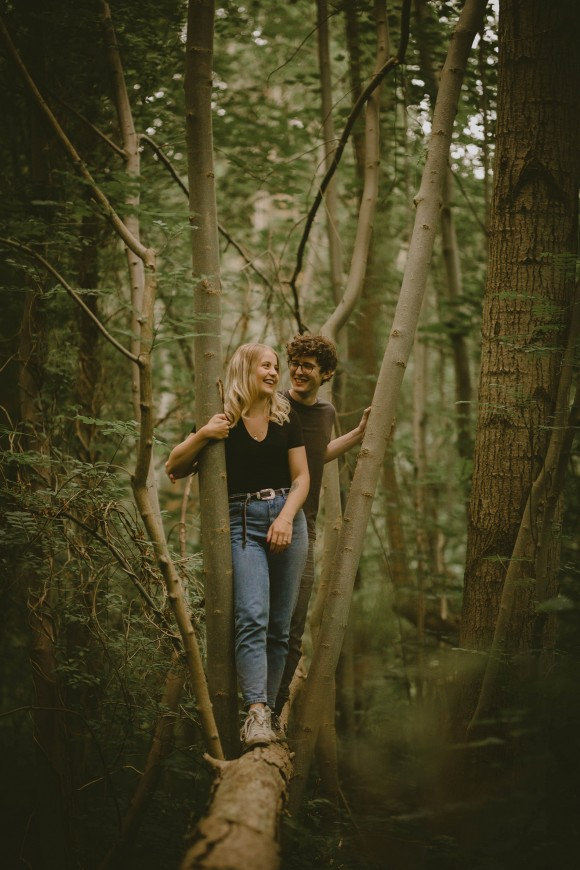A Woodland Engagement Shoot (c) Clique Visuals (25)