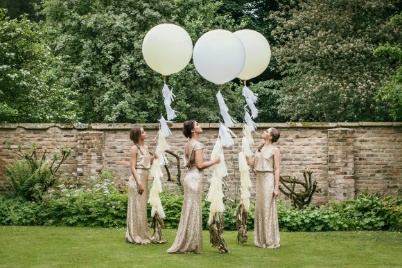 pretty maids. a glamorous styled shoot at saltmarshe hall