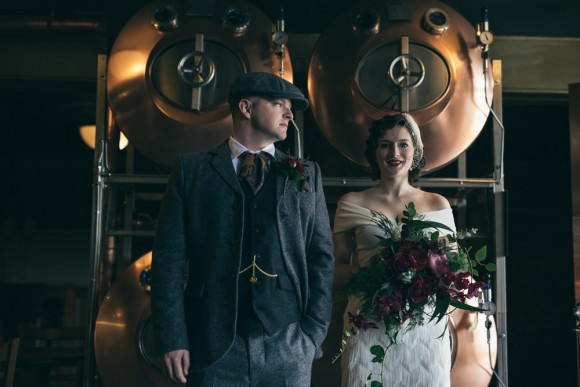 Peaky Blinders Styled Bridal Shoot (c) Vickerstaff Photography (7)