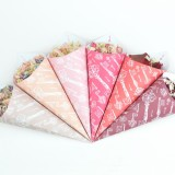 ShropshirePetals.com Personalised Confetti Cones - Vintage theme - Pink colour examples from £13 (4)