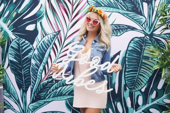 california dreaming. a palm springs inspired styled hen do shoot