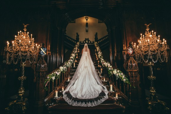 A Classic Wedding at Allerton Castle (c) Joel Skingle Photography (35)