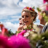 A Colourful Wedding at Priory Cottages (c) James Tracey Photography (18)